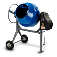 Baumr-AG  135L Portable Electric Concrete Cement Mixer