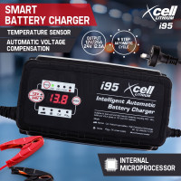 X-Cell 9 Stage Automatic Smart Battery Charger- i95