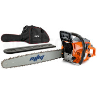 "MTM 72cc 22"" Bar E-Start Sytem Commercial Petrol Chainsaw- 72SX"
