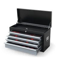 Black/Grey 478 Piece Box Chest Cabinet Tool Kit Set