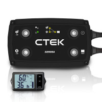 CTEK 20A OFF GRID Battery Charging System with D250SA and Digital Display Monitor for Wind and Solar