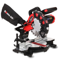 BAUMR-AG 210mm 1700W Compound Mitre Saw with Laser Guide - CM-210