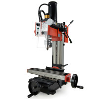 BAUMR-AG 350W Variable Speed Vertical Tilting Head Benchtop Mini Mill Drill Press