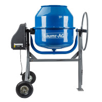Baumr-AG  210L Portable Electric Concrete Cement Mixer