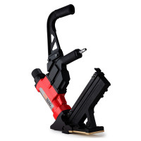 UNIMAC Pneumatic Flooring Nailer Staple Gun Floor Gas Nail Cleat Stapler