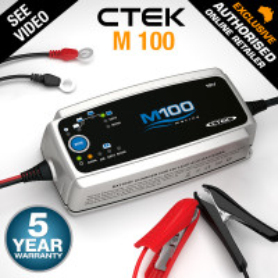 CTEK M100 7 Amp Smart Marine Battery Charger 7A 12V Car Boat AGM Deep Cycle