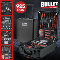 BULLET 925PC Tool Box On Wheels, Dark Grey