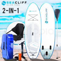 SEACLIFF Stand Up Paddle Board SUP Inflatable Paddleboard Kayak Surf Board