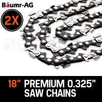 "Baumr-AG 2X 18"" Tru-Sharp Chainsaw Chain"