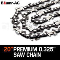 "Baumr-AG 20"" Chainsaw Chain 20in Bar Spare Part Replacement Suits 62CC 66CC Saws"