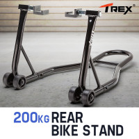T-REX Rear Motorcycle Stand Heavy-Duty Motorbike Lift Paddock Carrier Bike Fork