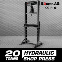 Baumr-AG 20 Tonne Hydraulic Shop Press Workshop Jack Bending Stand H-Frame