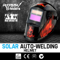 ROSSI Solar Flame Job Auto Darkening Welding Helmet Mask MIG/ARC/TIG Welder Machine