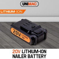 UNIMAC Nailer 20V Battery Lithium Ion Rechargeable Cordless Nail Gun