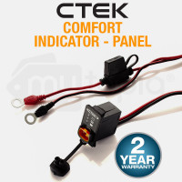CTEK Comfort Panel Indicator LED M8 3.3M Suits XC0.8 XS0.8 MXS3.6 MXS10 56-531
