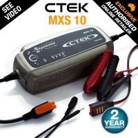 CTEK MXS 10 Amp Smart Battery Charger 12V Car Caravan RV Boat Marine AGM