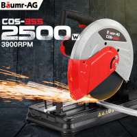 "Baumr-AG Metal Cut-Off Saw 14"" Drop Chop Circular Cutting Machine Electric Steel"