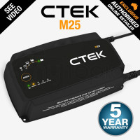 CTEK Lithium Mode AGM 12v Smart Battery Charger - M25