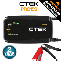 CTEK 12V 15A IP44 Boat Caravan Car Battery Charger- PRO15S