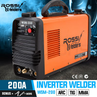 ROSSI Welder Inverter 200 Amp Welding Machine TIG ARC MMA DC WSM200 Portable