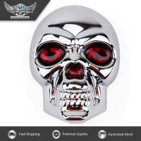 JAXSYN Chrome Plated Skeleton Skull Novelty Tow-bar/Trailer Hitch Cover
