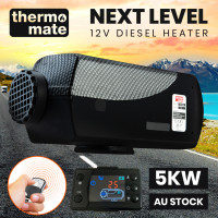 THERMOMATE 12V 5kW Diesel Air Heater for Caravan Camper Trailer Van Motorhome RV