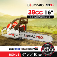 "Baumr-AG 38cc 16"" Bar E-Start Commercial Petrol Chainsaw SX38"
