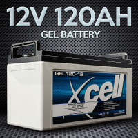 X-CELL GEL Battery 12V 120Ah Portable Sealed