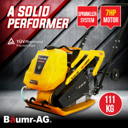 PRE-ORDER Baumr-AG 111kg 7HP Plate Compactor- BCX800