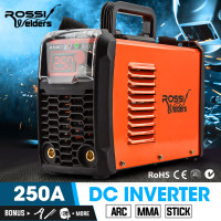 250 Amp Portable Inverter Arc Stick Welder