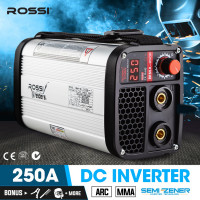 ROSSI Ultra-Portable 250A Inverter Welder MMA ARC Stick DC Welding Machine