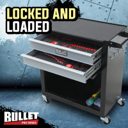 Black/Grey 622 Piece Box Chest Cabinet Tool Kit Set