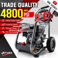 Jet-USA 4800PSI Petrol Powered High Pressure Washer- CX760 Gen IV