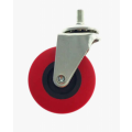 Folding Creeper Caster Wheel - Red