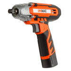 "UNIMAC 1/2"" Cordless Impact Wrench - Lithium-Ion Battery Rattle Gun Sockets"