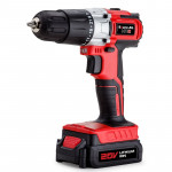 Baumr-AG 20V Lithium Cordless Hammer Drill Electric Masonry Drilling Tool