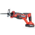 BAUMR-AG 20V SYNC Cordless Lithium Power Reciprocating Saw, with Battery, Charger, 3 Cutting Blades