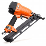 UNIMAC Finishing Air Nail Gun - Heavy Duty Angled Nailer Pneumatic Finish