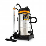 UNIMAC 100L Wet and Dry Vacuum Cleaner Bagless Commercial Grade Drywall Vac