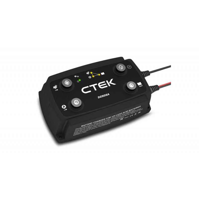CTEK Off Road 140A 12V Dual Battery Energy Management System, with D250SA Charger, SMARTPASS 120, MONITOR 						 by CTEK