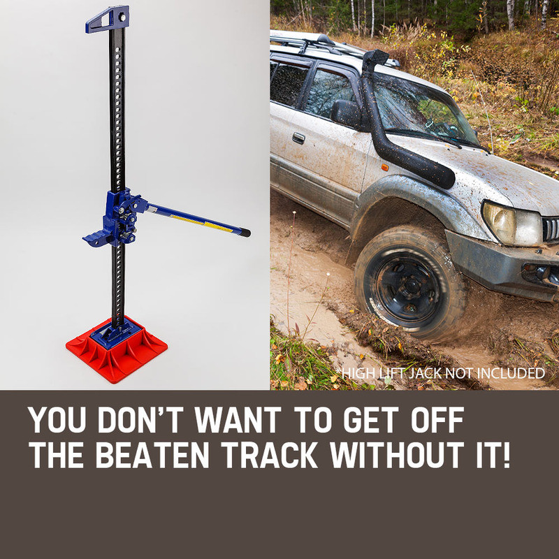 """T-REX 4X4 High Lift Jack Base Plate 4WD Off Road Mud Sand Recovery Hi Farm 48"""" by T-Rex"""