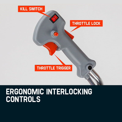 MTM 62CC Brush Cutter Whipper Snipper Trimmer Edger Brushcutter Multi Pole Tool by MTM