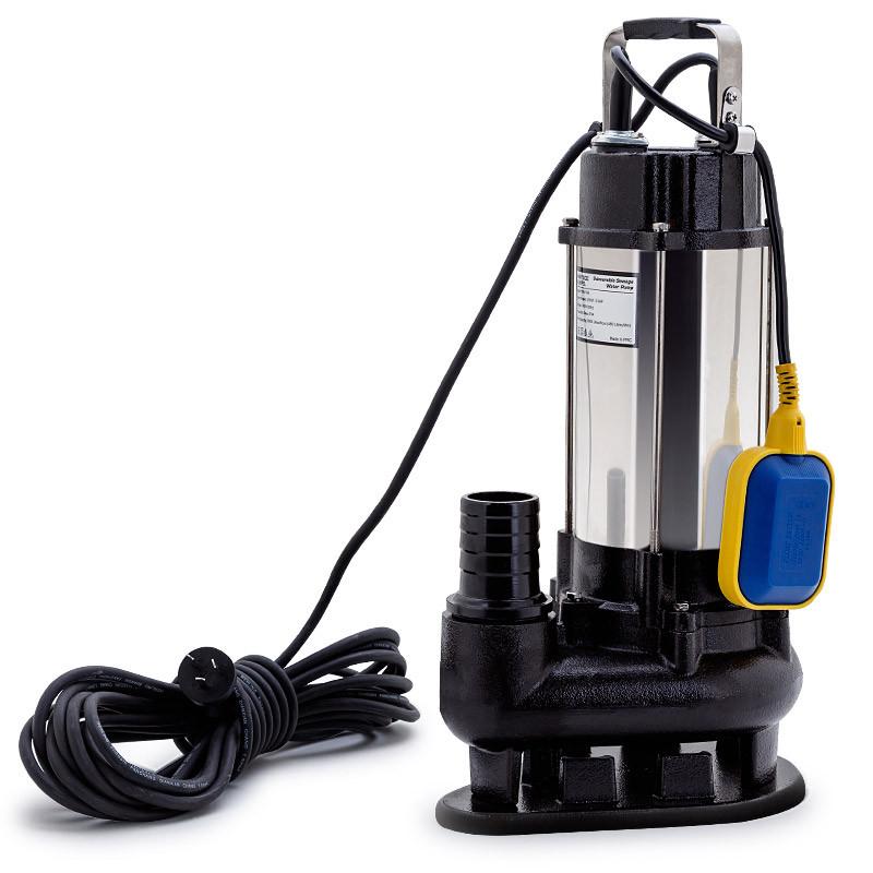 PROTEGE 2250W Submersible Dirty Water Pump Sewage Bore Septic Tank Well Sewerage by Protege