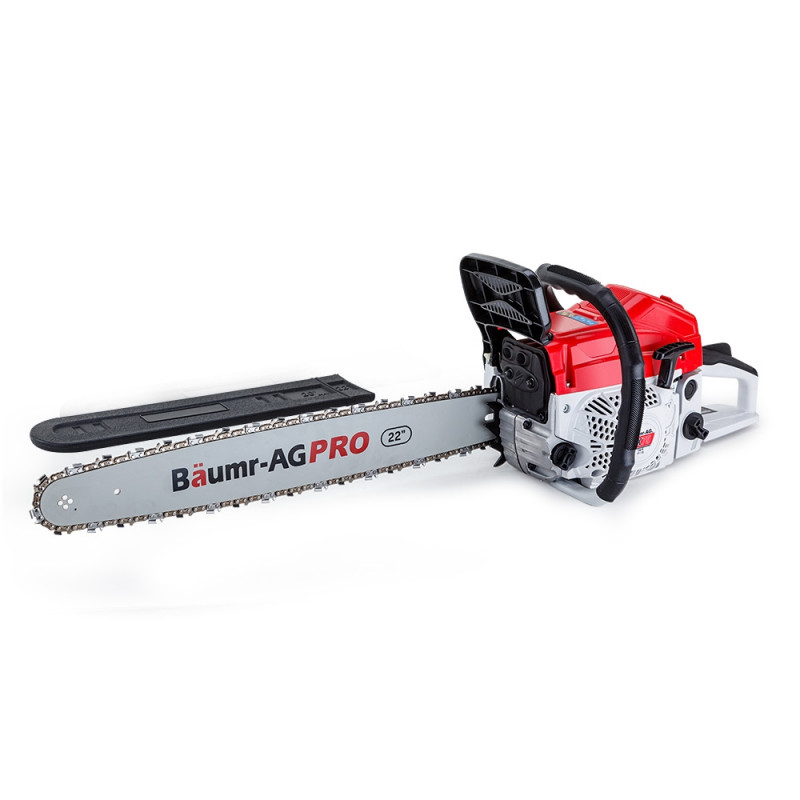 "Baumr-AG 22"" E-Start Commercial Petrol Chainsaw Pro Series - SX75 by Baumr-AG"