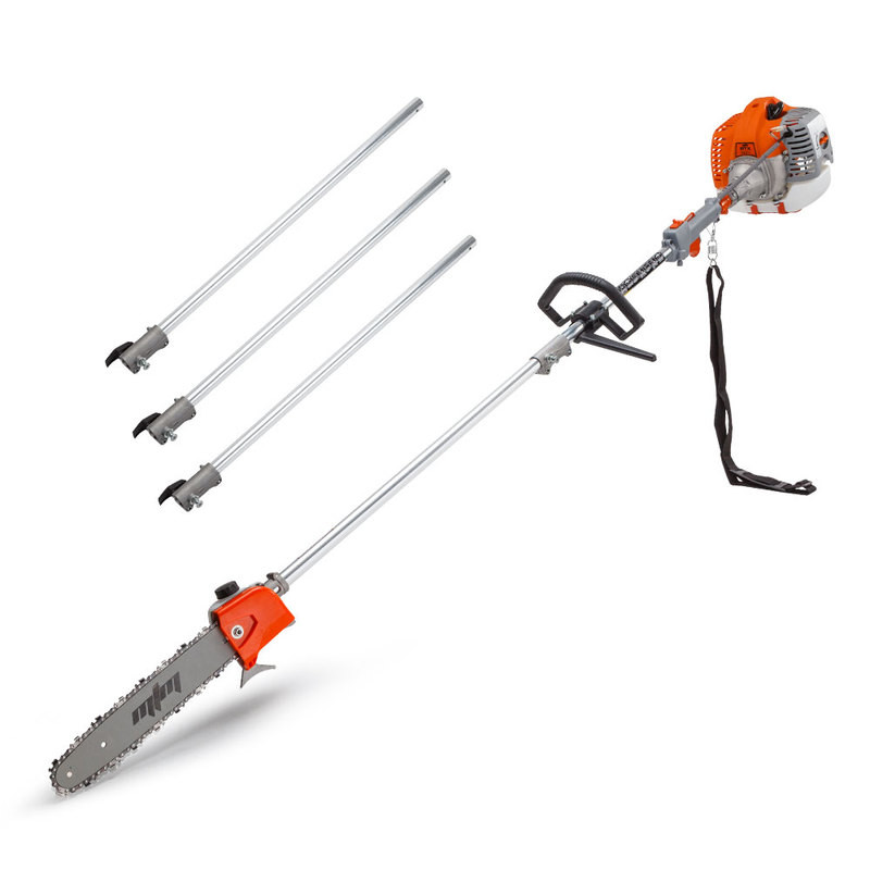 MTM 62CC Pole Chainsaw Saw Petrol Chain Tree Pruner Extended Extension Cutter by MTM