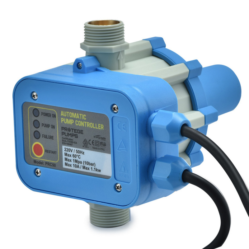 PROTEGE 1100W Automatic Adjustable Water Pump Pressure Controller by Protege