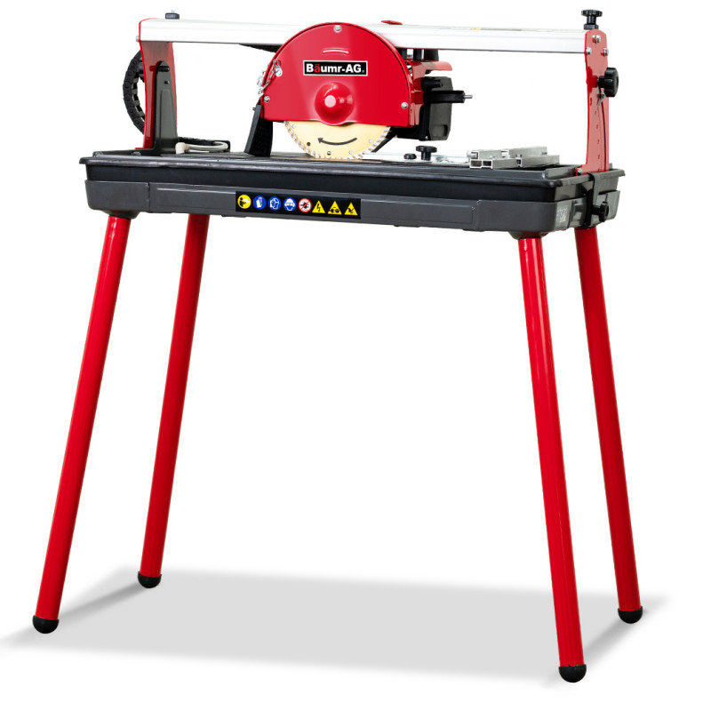"BAUMR-AG 600W 430mm Electric Wet Tile Saw Cutter with 180mm (7"") Blade by Baumr-AG"