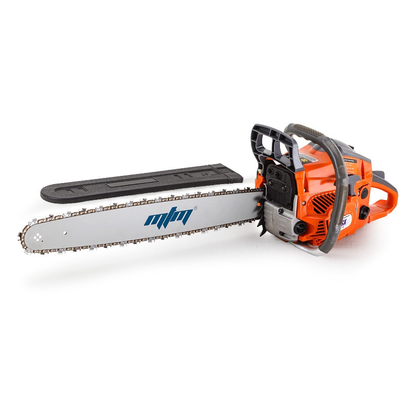 "MTM 22"" Bar E-Start Commercial Petrol Chainsaw Pruner- 62SX by MTM"