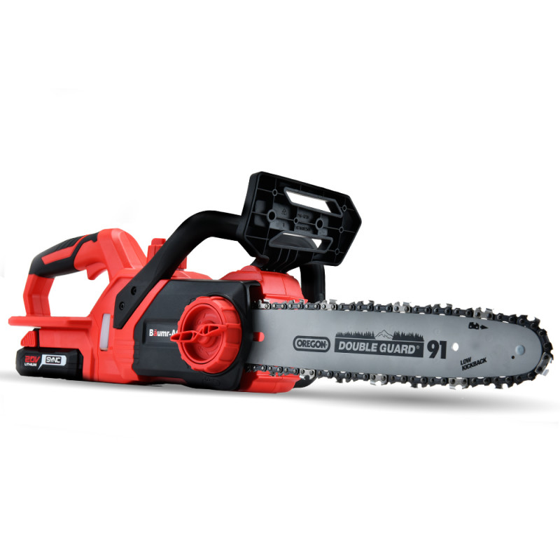 "Baumr-AG 20V Lithium-Ion 12"" Cordless Electric Chainsaw OREGON Bar and Chain by Baumr-AG"