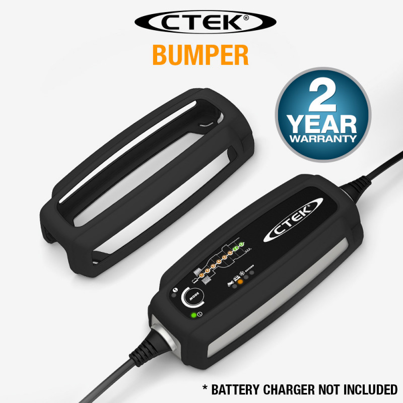 CTEK Genuine Rubber Bumper Cover Battery Charger Suits MXS3.6 MXS5.0 56-915 by CTEK